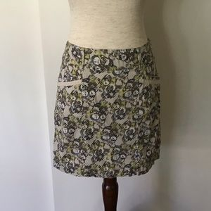 Cotton Mini Skirt with pockets
